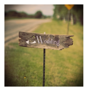 A rustic Montana ranch wedding.