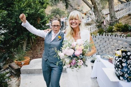 A Fun Same-Sex Wedding