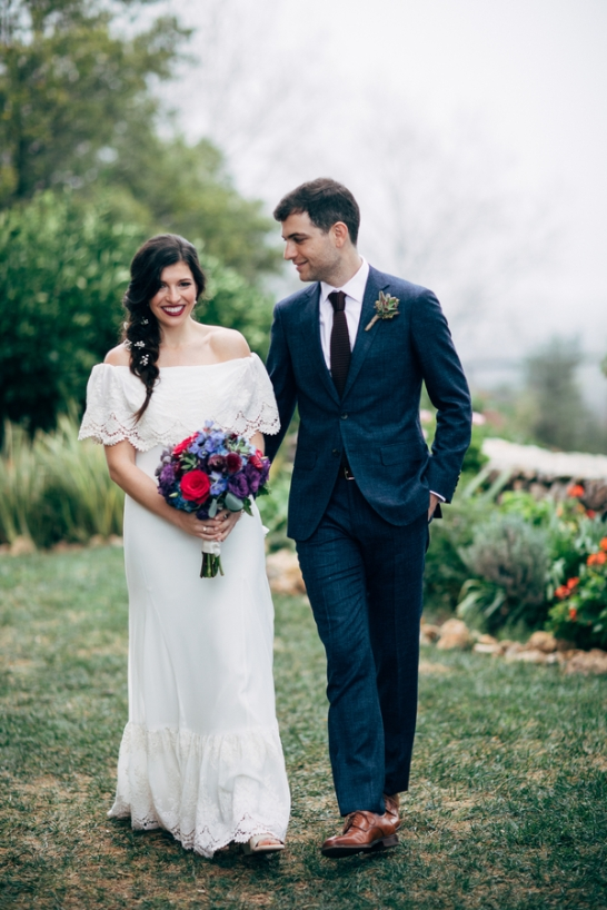 A Misty Malibu Wedding