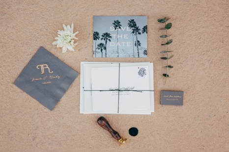 An Elegant California Desert Wedding