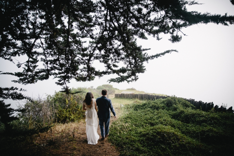 A Rustic Big Sur Wedding