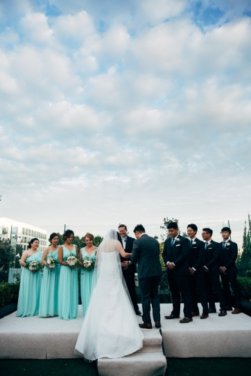 A Modern Korean Wedding in Hollywood