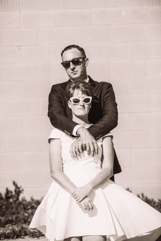 A DIY, 60's Inspired Wedding