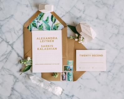 Wedding Invitation photographed by Bright Bird Wedding Photography