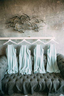 Bridesmaids dresses photographed by Bright Bird Wedding Photography