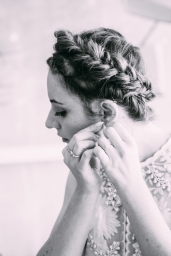 Bride photographed by Bright Bird Wedding Photography