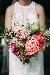 Bride boquet photographed by Bright Bird Wedding Photography