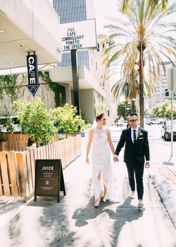 Bride and groom photographed by Bright Bird Wedding Photography