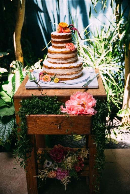 Wedding cake photographed by Bright Bird Wedding Photography