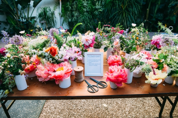 Wedding flowers photographed by Bright Bird Wedding Photography