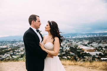 bride-and-groom-in-Los-Angeles