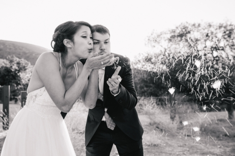 bride-and-groom-blow-dandelions