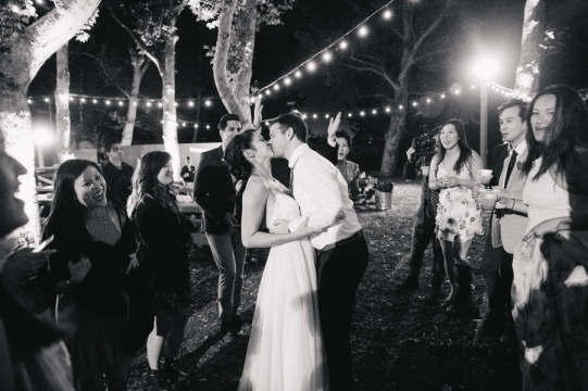 bride-and-groom-kiss-on-dance-floor