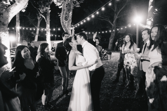 bride-and-groom-kiss-on-dance-floor