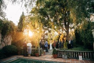 wedding-reception-outside-at-sunset