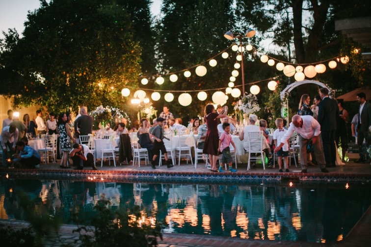 poolside-wedding-party