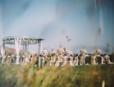 film-photograph-of-outdoor-wedding-ceremony