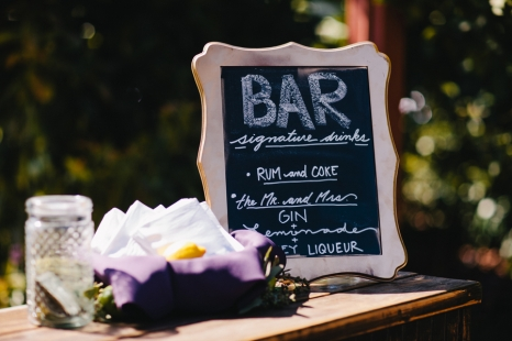 rustic-handwritten-wedding-sign