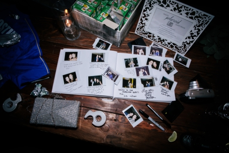 wedding-guest-book-with-polaroids