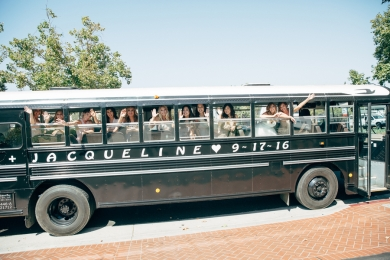 bridal-party-in-festive-bus
