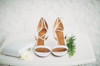 white-high-heels