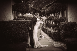 bride-and-groom-sepia